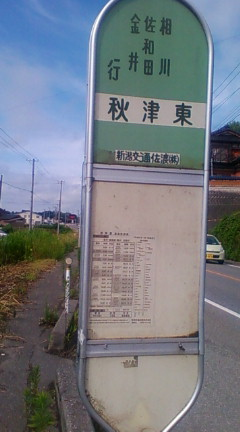 秋津村の辺り(武右衛門はこの近くで加茂湖の主に襲われたと思われる)2009年7月20日のりくん撮影
