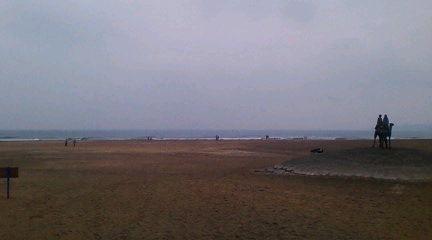 岩和田海岸(2009年9月12日、のりくん撮影)
