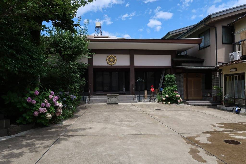 東京都文京区白山の喜運寺