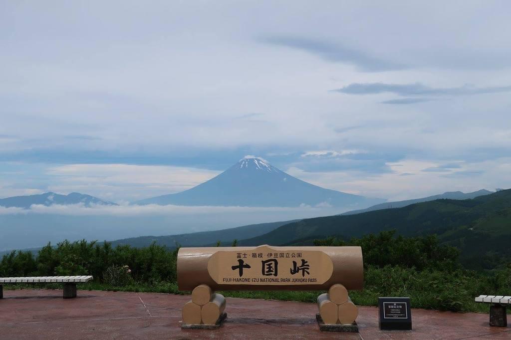 十国峠から見た富士山