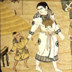 アイヌの母子の服装※日本の旅路(第01巻)千趣会から