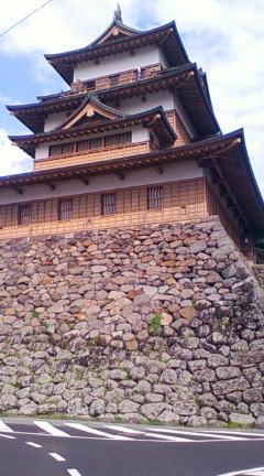 物語中登場するお殿様(たぶん日根野高吉)が居住していた高島城(2009年8月のりくん撮影)