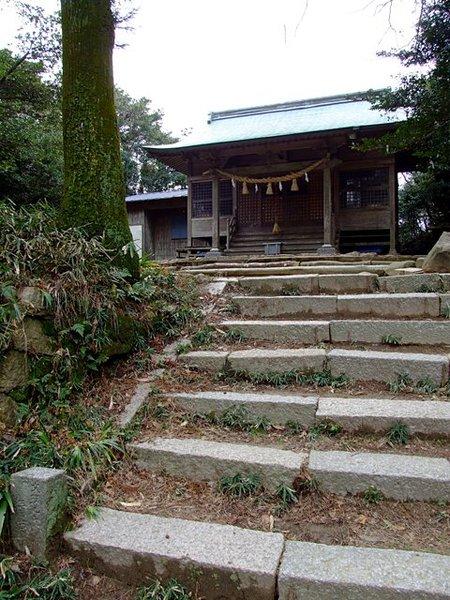 四王司山の毘沙門天さん(araya氏撮影、20120303)