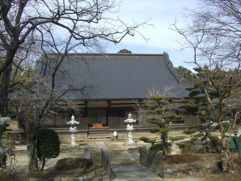 金剛寿院の本堂(2013年3月3日、マルコ氏撮影)