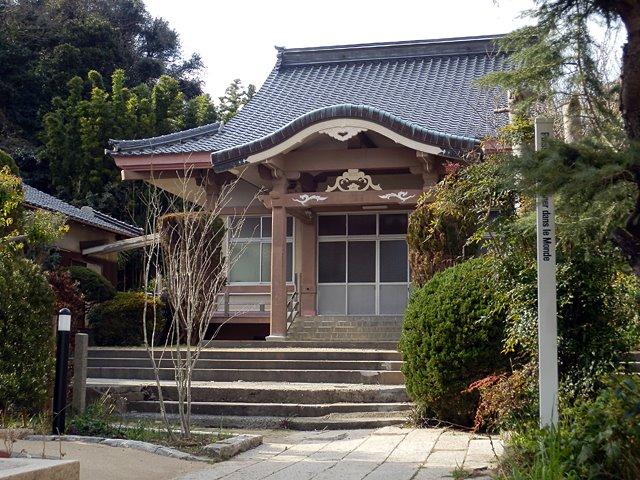 竜宮の鐘があった専念寺(araya氏、2012年1月26日撮影)