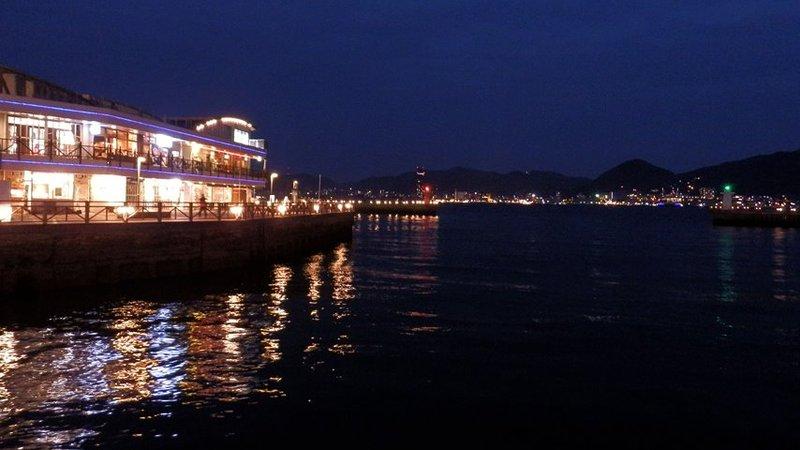 鐘が沈んだ関門海峡(araya氏、2012年1月26日撮影)