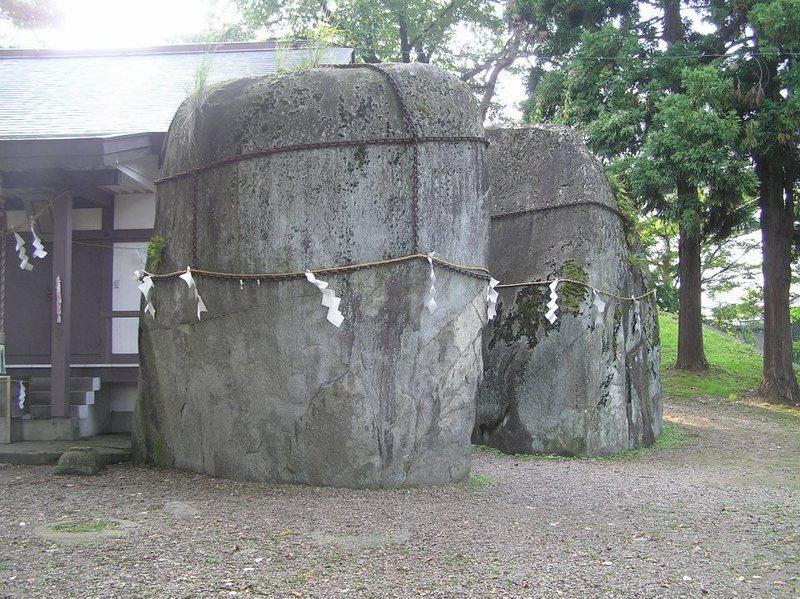 鬼の手形石(2007年9月15日、きたやん撮影)