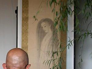 永福寺の幽霊の掛け軸(お菊さん)※araya氏2004年撮影