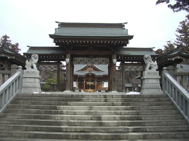 白鷺神社(マルコ、2012年03月04日撮影)