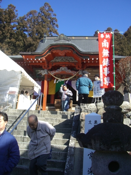 智玄和尚のお堂(マルコ、2012年02月11日撮影)
