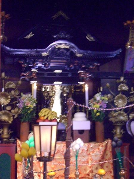 常楽寺の秘仏(マルコ、2012年02月11日撮影)