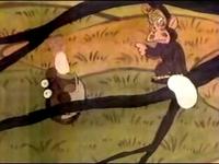 猿とどんびき