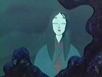 浄蓮の滝の女郎ぐも