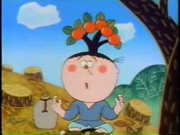 のんべえの頭の柿の木
