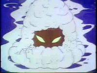 綿帽子かぶった姥
