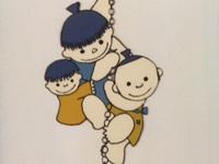 お月さん金の鎖