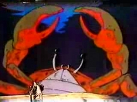 蟹淵の化け蟹