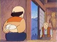 行徳じいさんと鶴