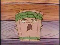 里芋と豆腐のけんか