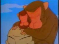 大智禅師と猿