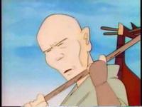 琵琶法師と竜